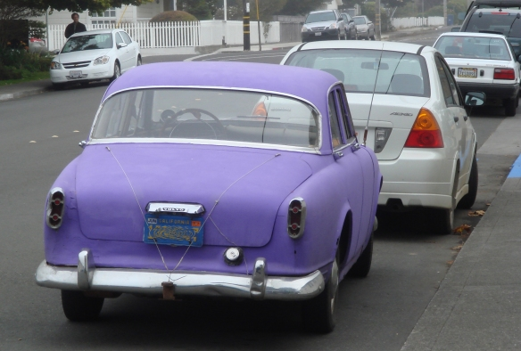 Purple Car Cropped